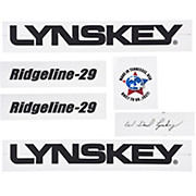 Lynskey Ridgeline Decal Kit